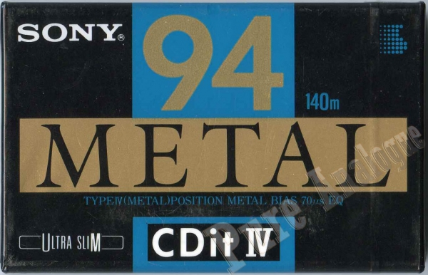 Sony CDit IV 94 (1994) US
