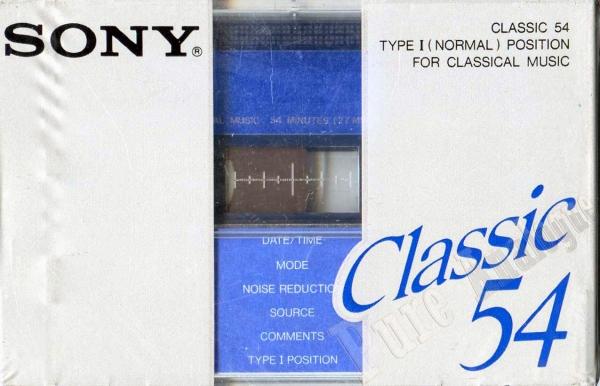 Sony Classic (1978) JAP