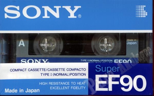 Sony Super EF (1988) EUR