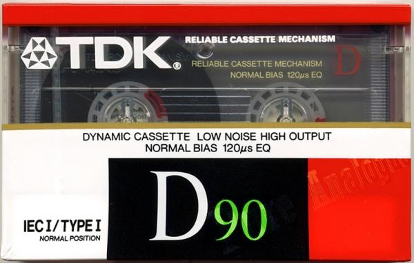 TDK D (1988) EUR