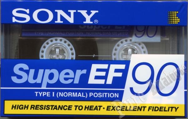 Sony Super EF (1995) EUR