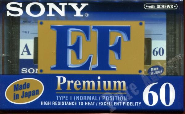 Sony Premium EF (1996) EUR