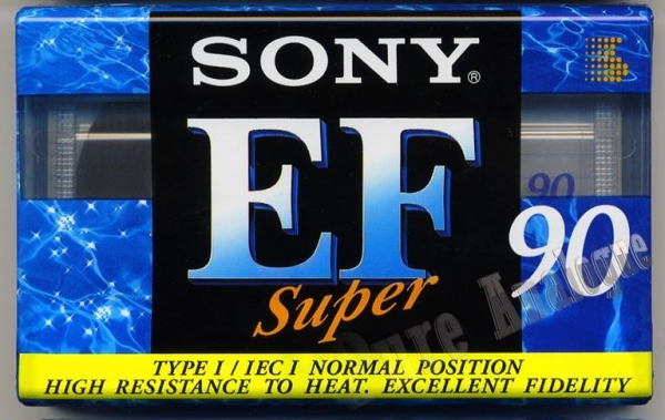 Sony Super EF (1997) EUR