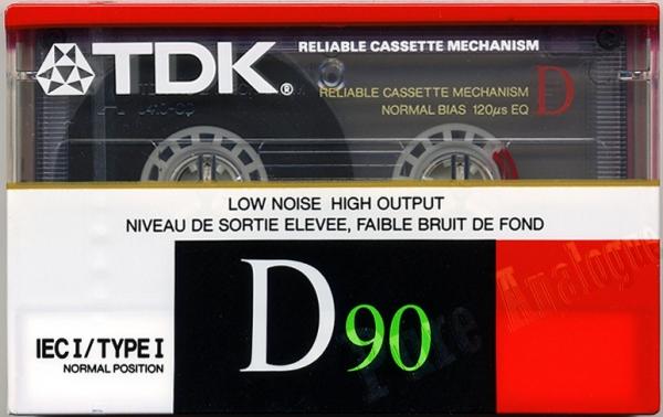 TDK D (1988) US