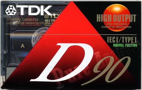 TDK D (1992) US