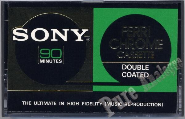Sony FeCr (1972) US/EUR FerriChrome