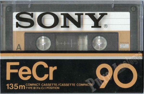 Sony FeCr (1978) EUR