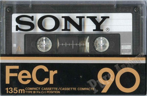 Sony FeCr (1978) US