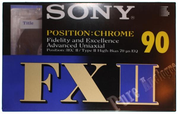 Sony FX II (1995) EUR