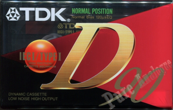 TDK D (1995) EUR