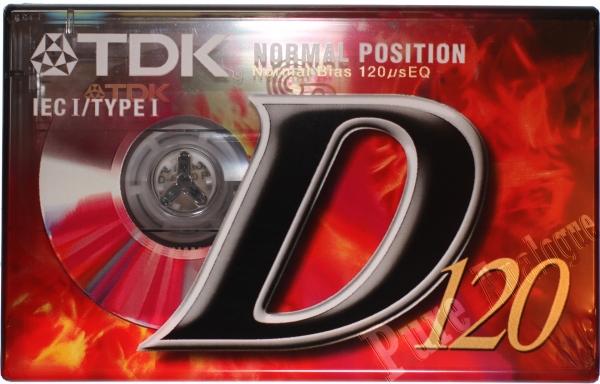TDK D (1998) EUR