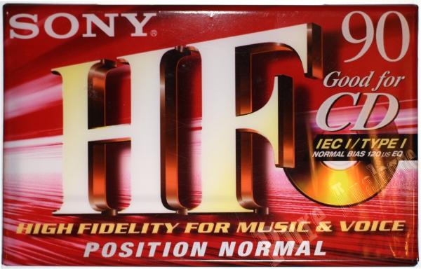 Sony HF (1999) EUR