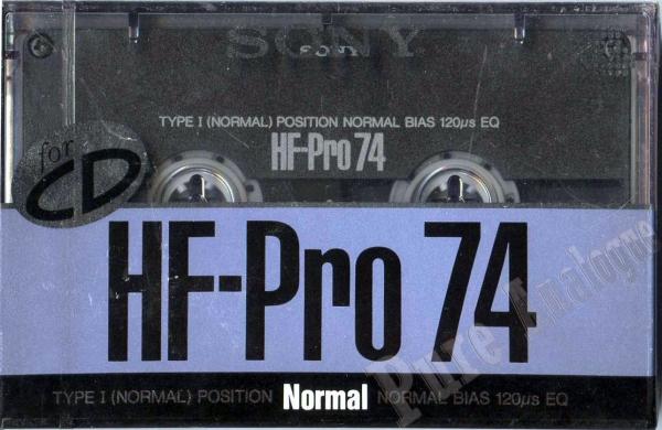 Sony HF-Pro (1989) JAP