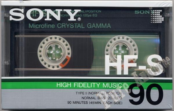 Sony HF-S (1986) US