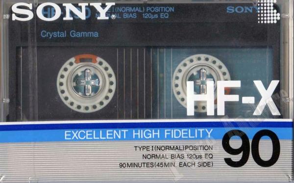 Sony HF-X (1986) JAP