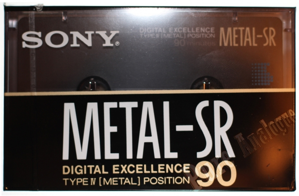 Sony Metal-SR (1989) US