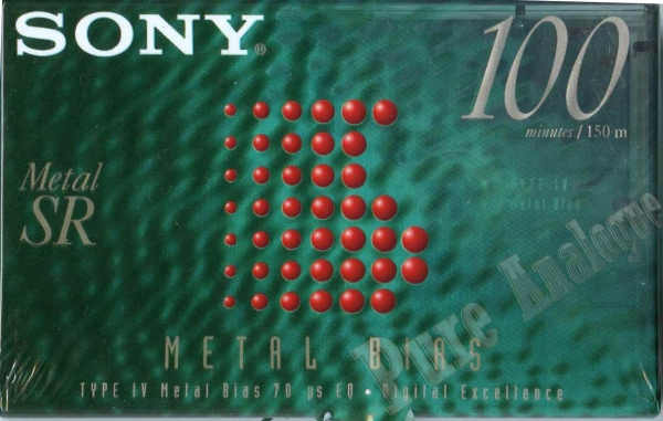 Sony Metal-SR (1996) US