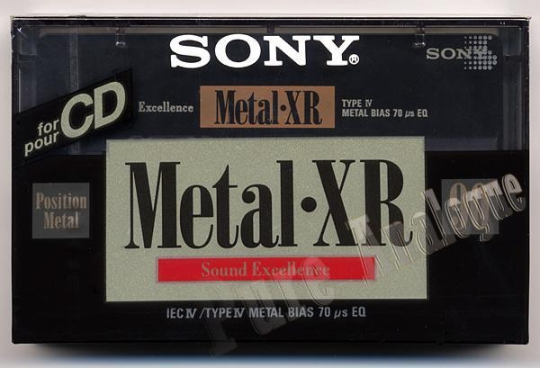 Sony Metal-XR (1992) EUR