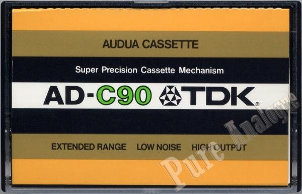 TDK AD (1977) EUR/US