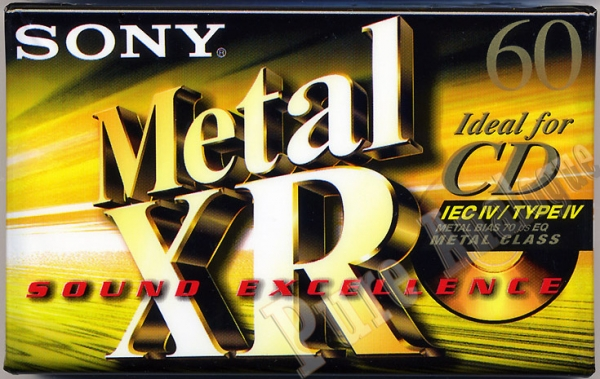 Sony Metal-XR (1999) EUR
