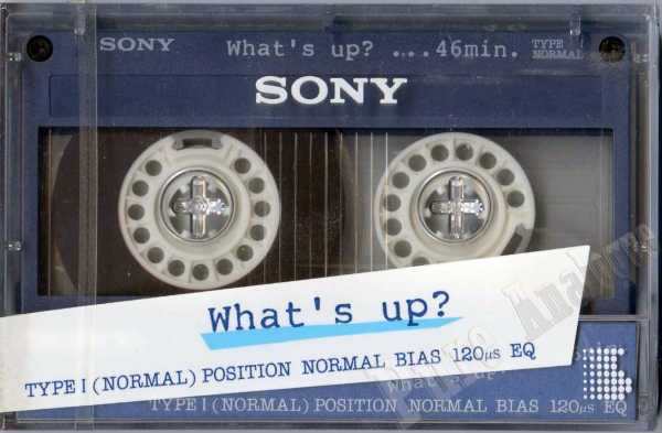Sony What's Up (1985) JAP
