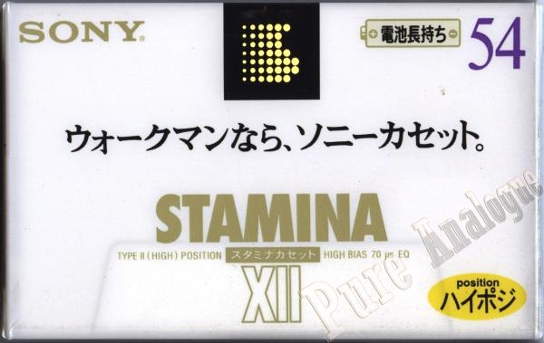 Sony XII (1995) JAP Stamina