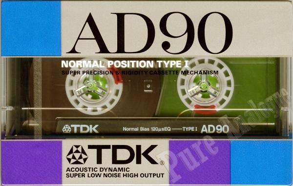 TDK AD (1988) JAP