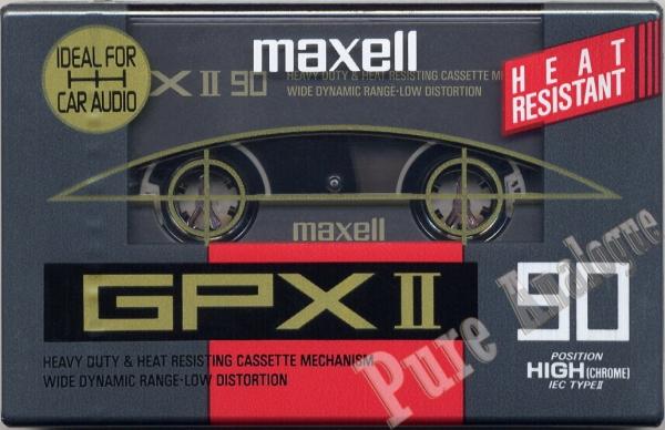 Maxell GPX II (1992) EUR