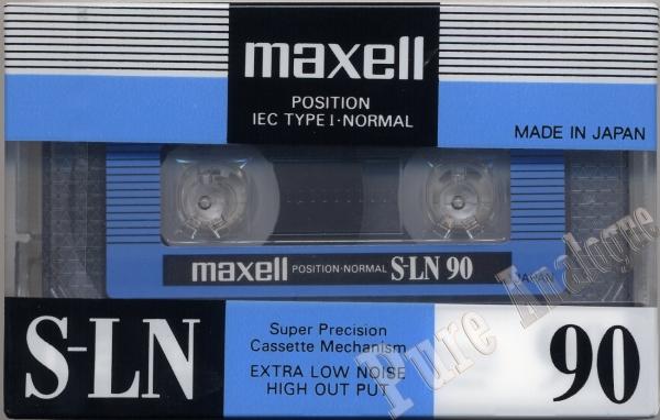 Maxell S-LN (1985) EUR