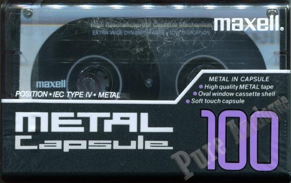 Maxell Metal Capsule (1991) US