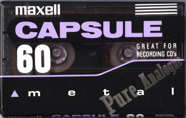 Maxell Metal Capsule (1996) US