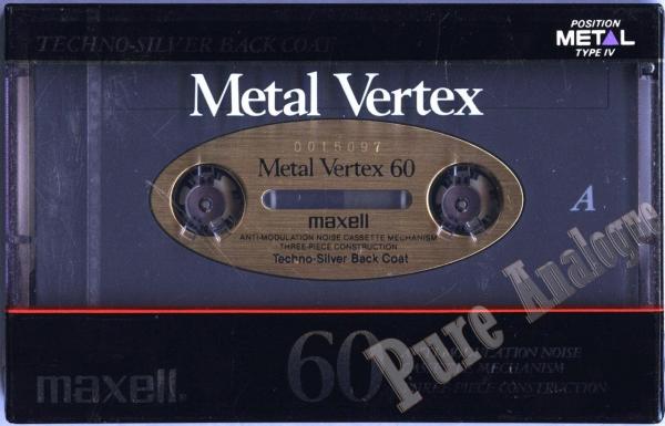 Maxell Metal Vertex (1988) JAP