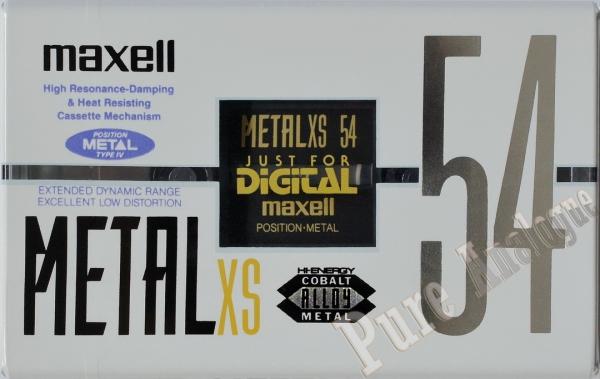 Maxell Metal-XS (1992) JAP
