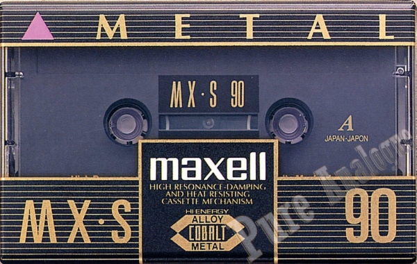 Maxell MX-S (1992) US