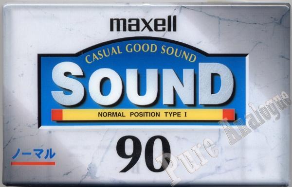 Maxell Sound (1997) JAP