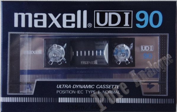 Maxell UD I (1985) EUR