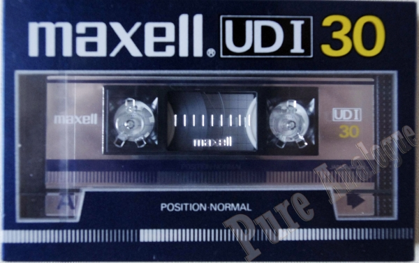 Maxell UD I (1985) JAP