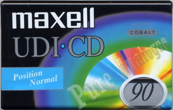Maxell UD I (1996) EUR (UDI-CD)