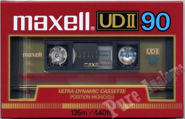 Maxell UD II (1986) EUR