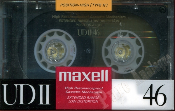 Maxell UD II (1988) JAP