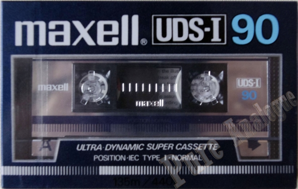 Maxell UDS I (1985) US