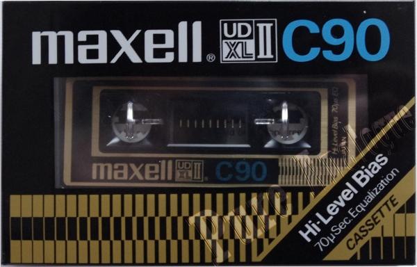 Maxell UDXL II (1977) US