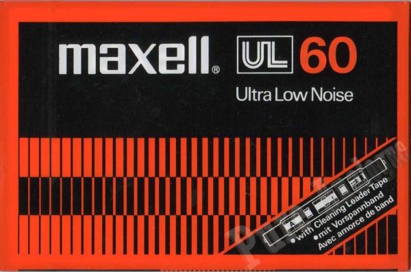 Maxell UL (1977) EUR