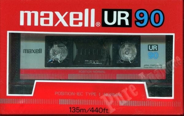 Maxell UR (1985) US