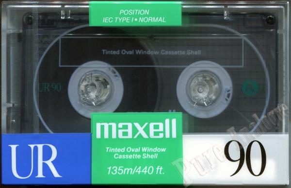 Maxell UR (1989) US