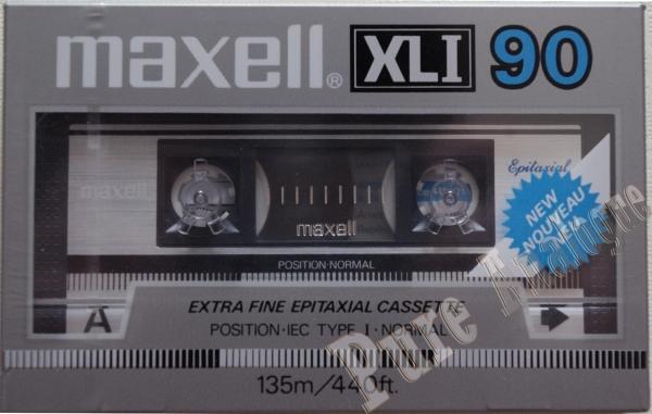 Maxell XL I (1985) EUR