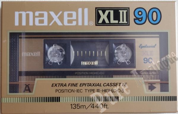 Maxell XL II (1985) US