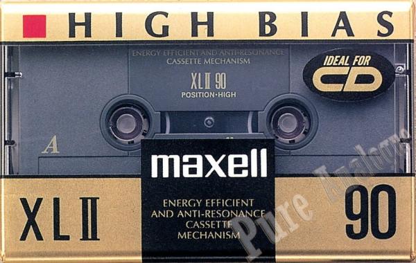 Maxell XL II (1992) EUR