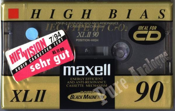 Maxell XL II (1994) EUR
