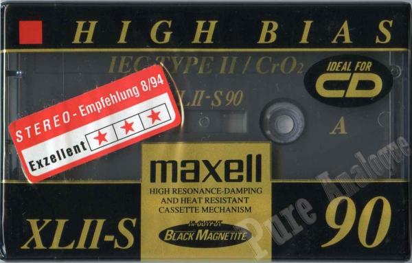 Maxell XLII-S (1994) EUR